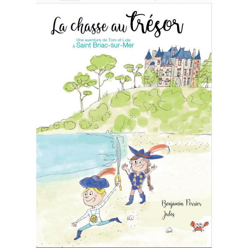 La chasse au Trésor, une aventure de Tom et Lola à Saint-Briac-sur-Mer