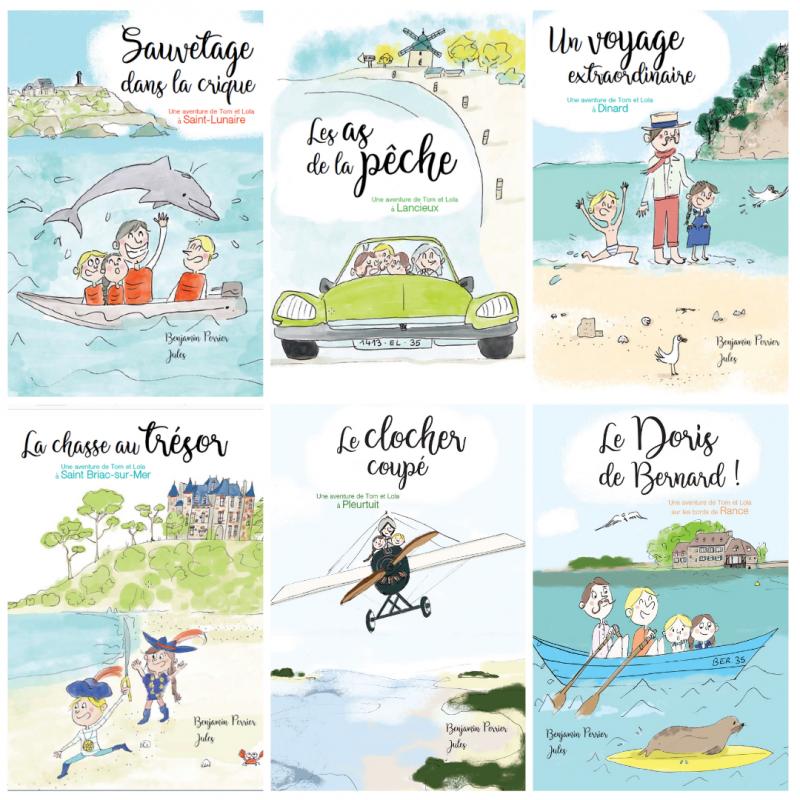 Sauvetage dans la crique-Une aventure de Tom et Lola à Saint-Lunaire